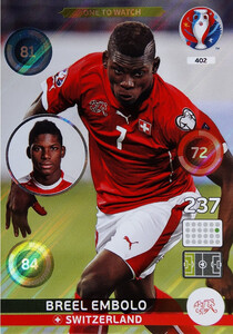 EURO 2016 ONE TO WATCH Breel Embolo #402