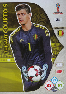 WORLD CUP RUSSIA 2018 BELGIA TEAM COURTOIS 28