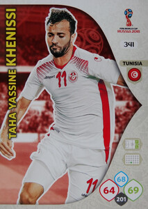 WORLD CUP RUSSIA 2018 TEAM MATE TUNEZJA KHENISSI 341
