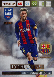 UPDATE 2017 FIFA 365 WINTER STAR  LIONEL MESSI #122