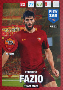 UPDATE 2017 FIFA 365 TEAM MATE FEDERICO FAZIO #62