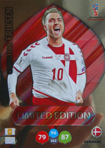 WORLD CUP RUSSIA 2018 LIMITED DANIA Christian Eriksen