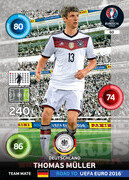 ROAD TO EURO 2016 TEAM MATE Thomas Müller #60