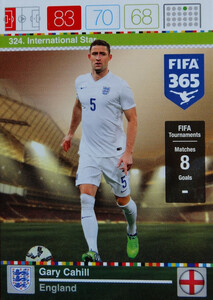 2016 FIFA 365 INTERNATIONAL STAR Gary Cahill #324