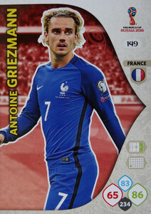 WORLD CUP RUSSIA 2018 TEAM MATE FRANCJA GRIEZMANN 149
