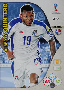 WORLD CUP RUSSIA 2018 TEAM MATE  PANAMA QUINTERO 249