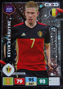 ROAD TO RUSSIA 2018 GAME BELGIA DE BRUYNE 14