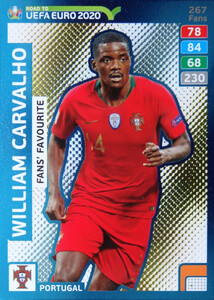 ROAD TO EURO 2020 FANS FAVOURITE William Carvalho #267