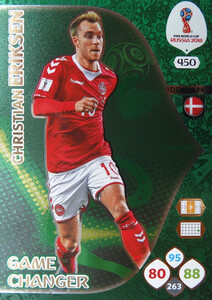 WORLD CUP RUSSIA 2018 GAME CHANGER ERIKSEN 450