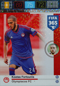 2016 FIFA 365 ONE TO WATCH Kostas Fortounis #207