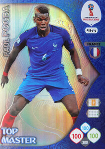 WORLD CUP RUSSIA 2018 TOP MASTER POGBA 465