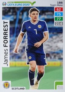 ROAD TO EURO 2020 TEAM MATE  James Forrest 188