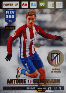UPDATE 2017 FIFA 365 WINTER STAR ANTOINE GRIEZMANN #121