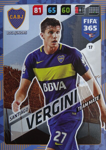 2018 FIFA 365 TEAM MATE Santiago Vergini #17