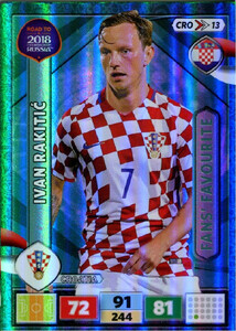 ROAD TO RUSSIA 2018 FANS FAVOURITE CHORWACJA RAKITIC 13