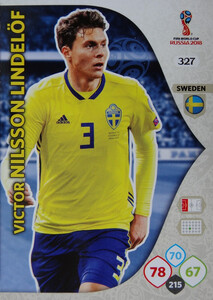 WORLD CUP RUSSIA 2018 TEAM MATE SZWECJA LINDELOF 327