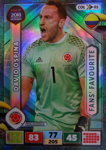 ROAD TO RUSSIA 2018 FANS FAVOURITE KOLUMBIA  OSPINA 05