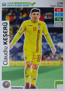 ROAD TO EURO 2020 TEAM MATE  Claudiu Keșerü 179