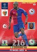 2014/15 CHAMPIONS LEAGUE® ONE TO WATCH   Giovanni Sio #79