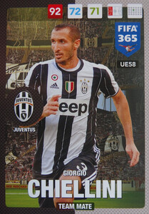 UPDATE 2017 FIFA 365 TEAM MATE GORGIO CHIELLINI #58