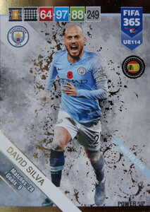 2019 FIFA 365 UPDATE WINTER STAR David Silva #114
