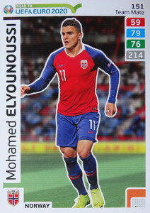 ROAD TO EURO 2020 TEAM MATE Mohamed Elyounoussi 151