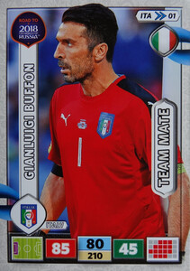 ROAD TO RUSSIA 2018 ITALIA TEAM MATE WŁOCHY  BUFFON  01