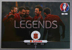 EURO 2016 LEGENDS Team Hiszpania #20