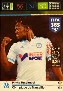 2016 FIFA 365 GOAL MACHINE Michy Batshuayi #208
