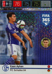 2016 FIFA 365 ONE TO WATCH Kaan Ayhan #222