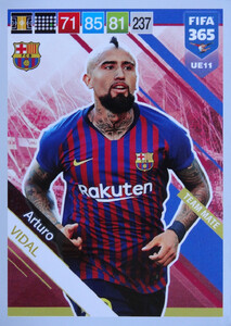 UPDATE 2019 FIFA 365 TEAM MATE Arturo Vidal #UE11
