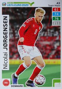 ROAD TO EURO 2020 TEAM MATE  Nicolai Jørgensen 43