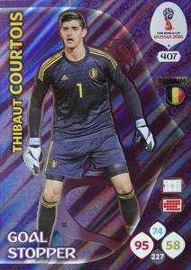 WORLD CUP RUSSIA 2018 GOAL STOPPER COURTOIS 407