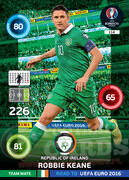 ROAD TO EURO 2016 TEAM MATE Robbie Keane #114