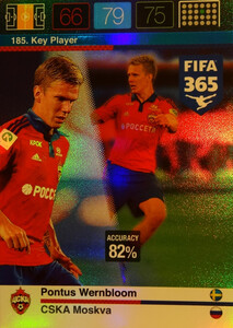 2016 FIFA 365 KEY PLAYER Pontus Wernbloom