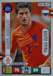ROAD TO RUSSIA 2018 TEAM MATE HOLANDIA  JANMAAT 03