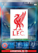 2014/15 CHAMPIONS LEAGUE® LOGO Liverpool FC #17
