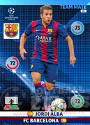 2014/15 CHAMPIONS LEAGUE® TEAM MATE Jordi Alba #64
