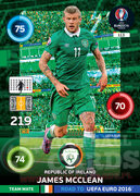 ROAD TO EURO 2016 TEAM MATE James McClean #113