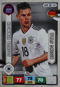 ROAD TO RUSSIA 2018 RISING STAR NIEMCY  KIMMICH 02