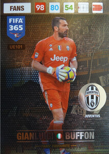 UPDATE 2017 FIFA 365 FANS' FAVOURITE GIANLUIGI BUFFON #101