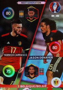 EURO 2016 NEXT GENERATION  Carrasco /  Denayer #40