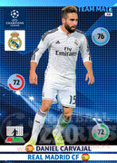 2014/15 CHAMPIONS LEAGUE® TEAM MATE Daniel Carvajal #208