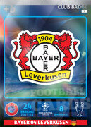 CHAMPIONS LEAGUE® 2014/15 LOGO Bayer 04 Leverkusen #9