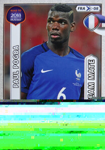 ROAD TO RUSSIA 2018 TEAM MATE FRANCJA  POGBA  08