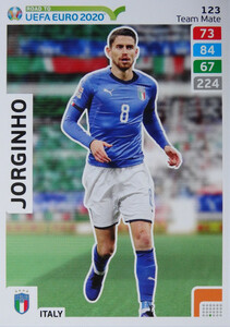 ROAD TO EURO 2020 TEAM MATE Jorginho 123
