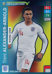 ROAD TO EURO 2020 RISING STAR Trent Alexander-Arnold #281