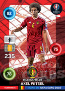 ROAD TO EURO 2016 TEAM MATE Axel Witsel  #30