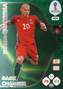 WORLD CUP RUSSIA 2018 GAME CHANGER QUARESMA 459