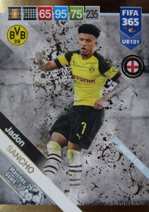 2019 FIFA 365 UPDATE WINTER STAR Jadon Sancho #121